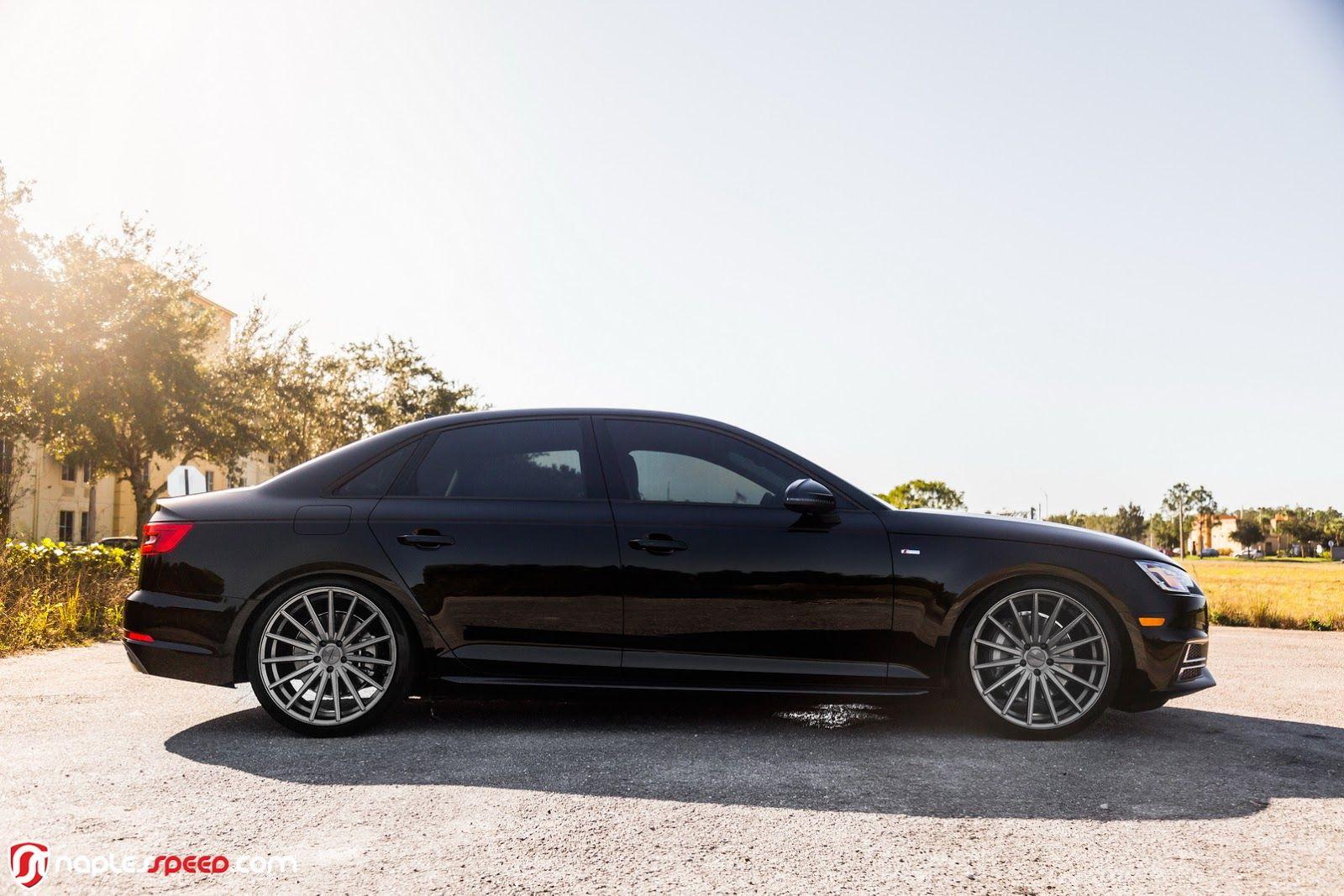 2017 Audi A4 Hunkers Down On 20 Custom Wheels Carscoops Custom Wheels 2017 Audi A4 Car Wheels