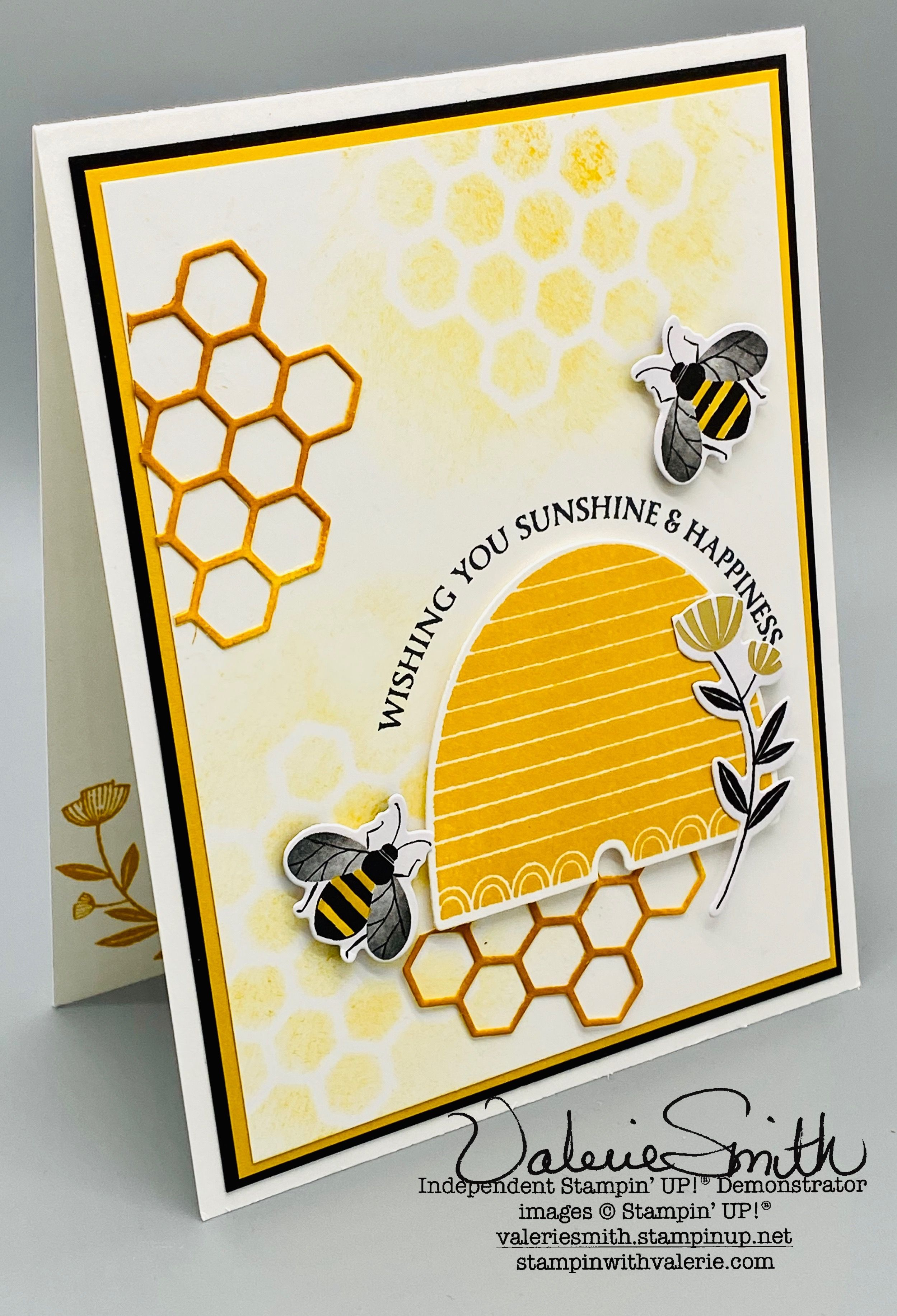 Mini Note Cards Bee Happy Mini Birthday Cards for Beekeeper gift