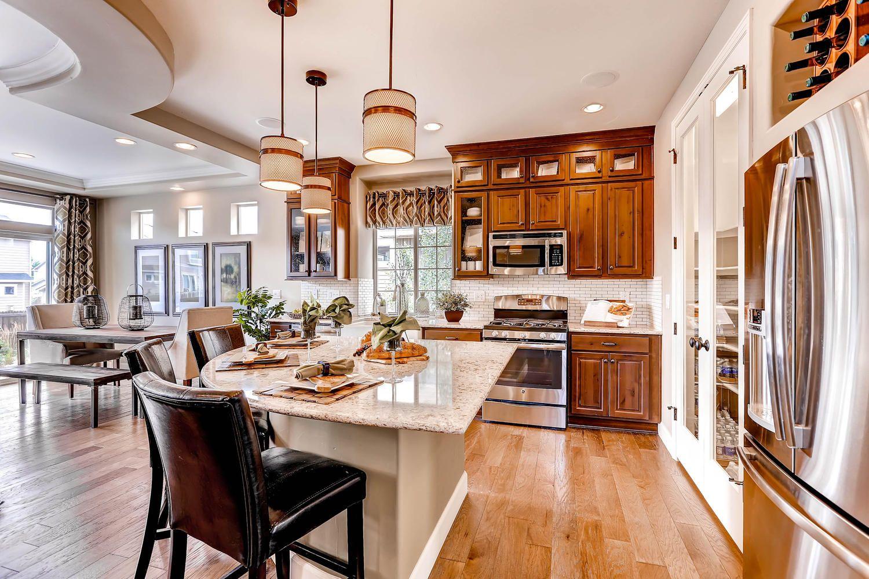 Outstanding Oakwood Home Gunnison Plan Kitchen