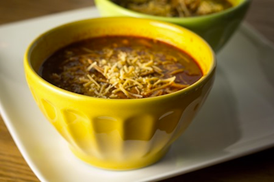 The Better Chip Chipotle Steak Chili from Afitandspicylife #TeamTBC