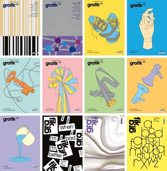 grafik magazine covers