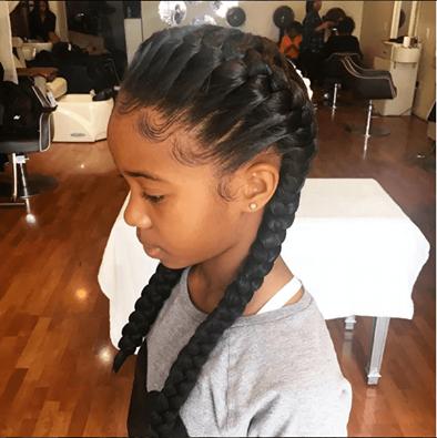 Search For French Braid Natural Hair Mag Hair Styles Braid Styles For Girls Natural Hair Styles