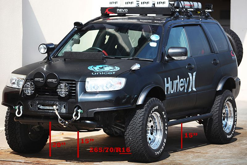 Proper Lifted Forester Subaru Sti Confidenceinmotion Rvinyl