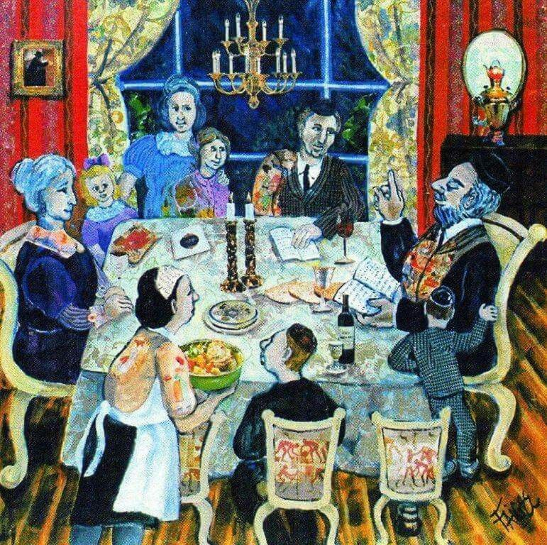 Jewish Art and Food by Debra's Pics and Favs   Seder, Passover ...