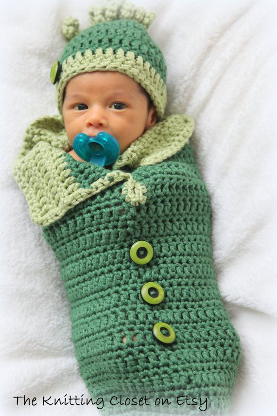 Crochet Cocoon Pattern, Crochet Hat, Newborn Photo Prop - Swaddle ...