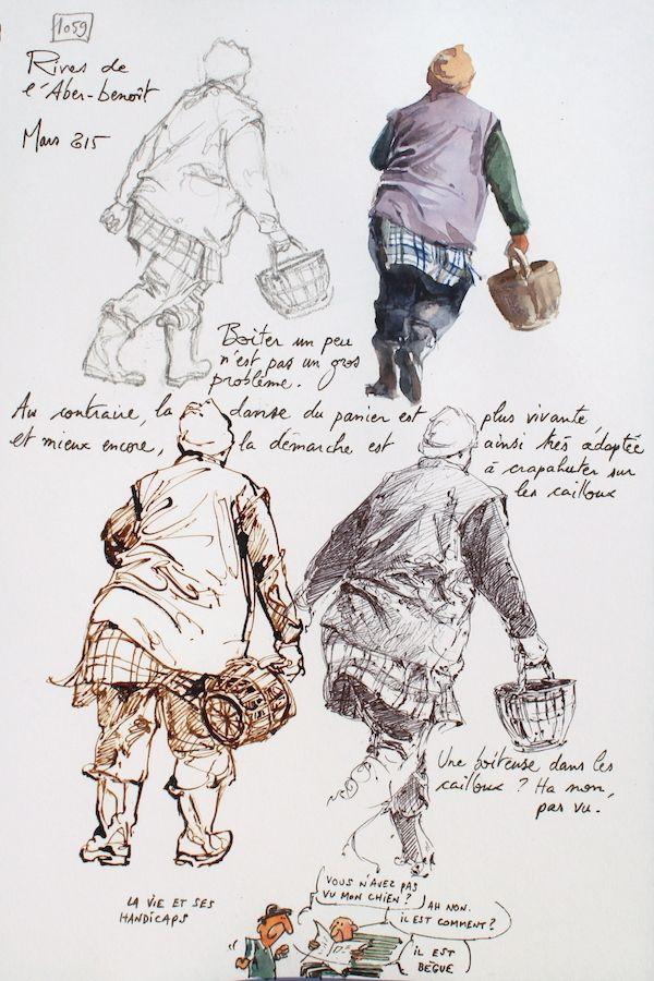 Une Bretagne par les contours / L\'Aber-benoît | Sketcher | Pinterest ...