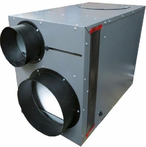 Heat Recovery Ventilator & Whole Home Dehumidifier LD800