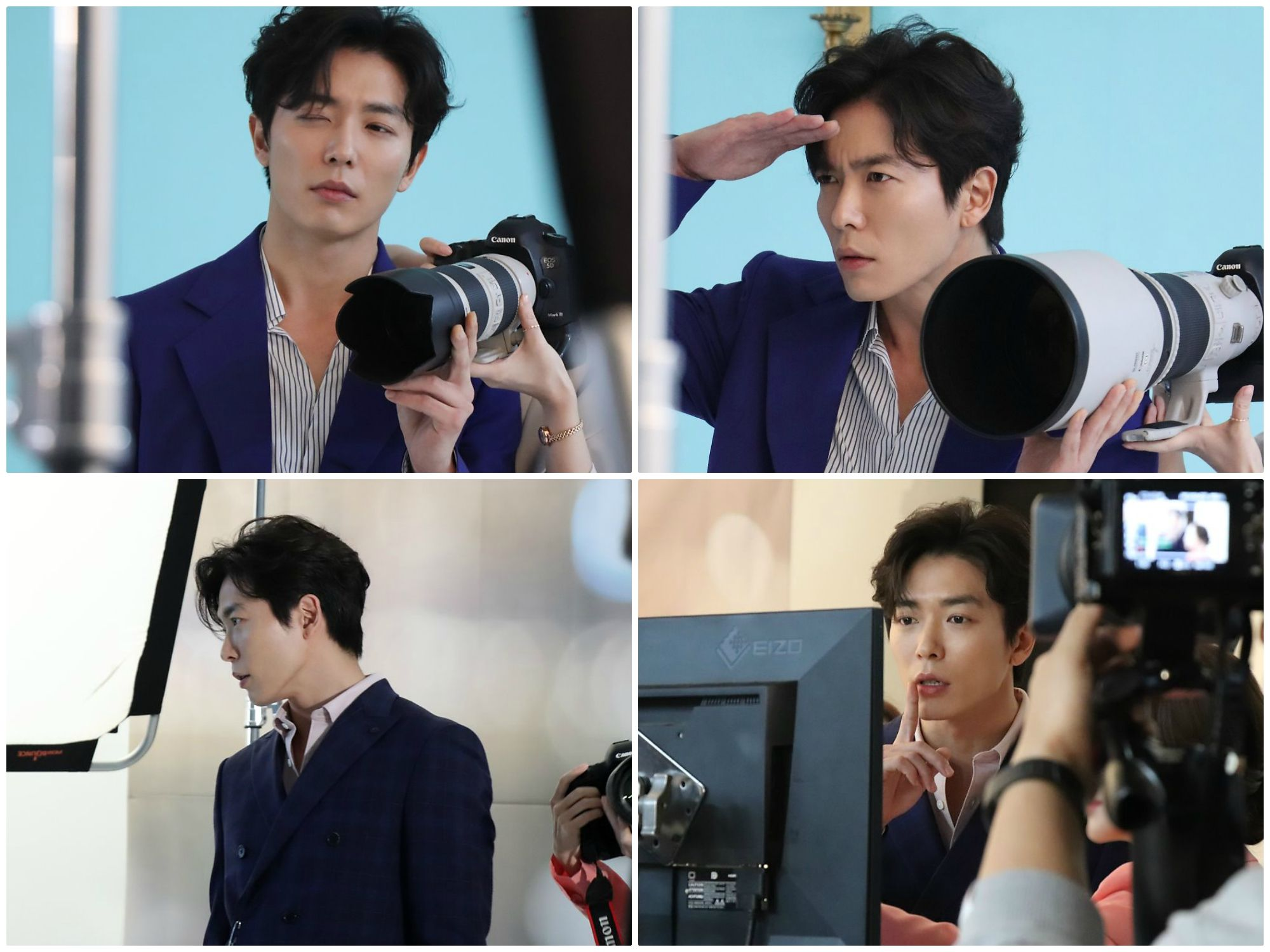 """Some Poster Shoot Behind-the-Scene behind-the-scenes photos by Kim Jae Wook, """"Her Private Life"""""""