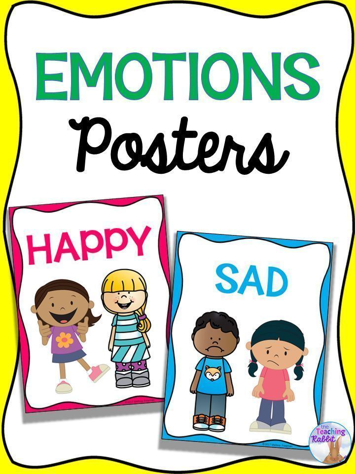 Emotions Posters Emotions Preschool Emotions Posters Emotions
