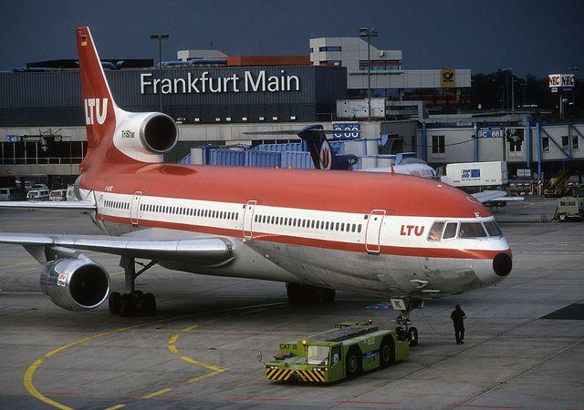 Frankfurt 20 years ago LTU Tristar 'D-AERE' by 'Longreach' by Jonathan McDonnell, via Flickr