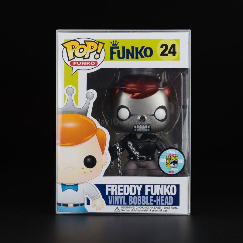 Funko Pop! Freddy Funko - Metallic Ghost Rider #24 1/12 - Rare and ...