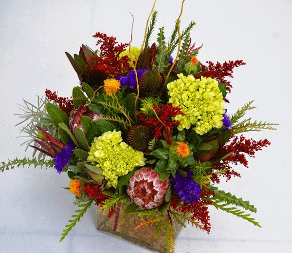 Early fall flower arrangement by Trigs Floral Home in Minocqua