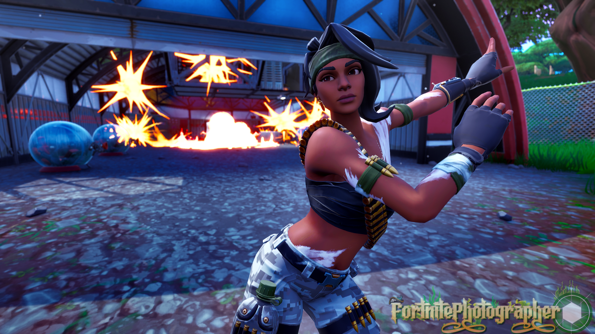 The Hunt Is On We Are Now 100 Twitter Fortnite Photographer Just Hit 100 Followers Thank You All So Much Bandolette Set 02 1 4 Fnphootographer On
