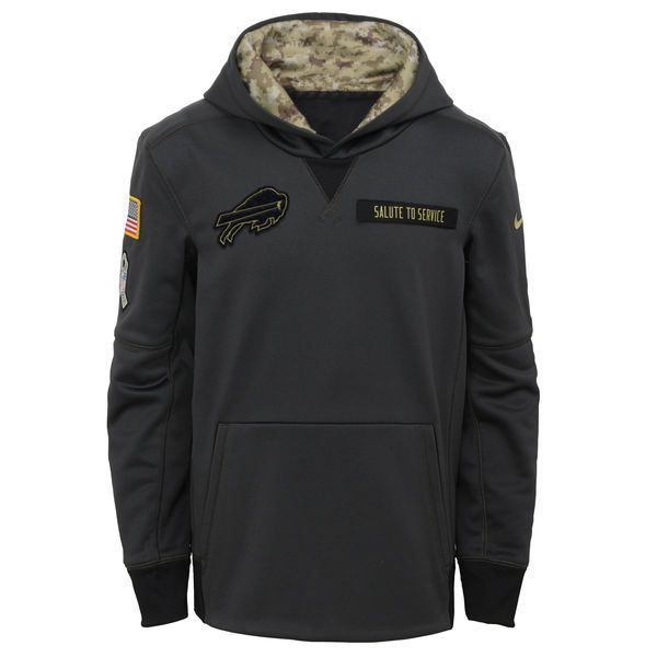 e2127433 Buffalo Bills Salute to Service hoodies, tee shirts, jerseys, jackets.  Military tribute apparel with American Flag Patch on and Veteran's ribbon  on sleeves