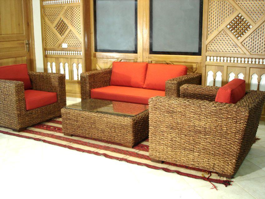 Fabrication De Meubles En Rotin Bambou Feuille De Bananier Jacinthe D Eau Mobilier De Salon Meuble Rotin Salon Rotin