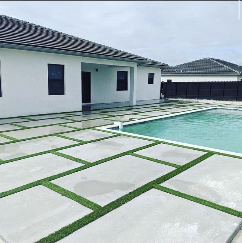 Artificial Grass Installation Project Ideas Miami