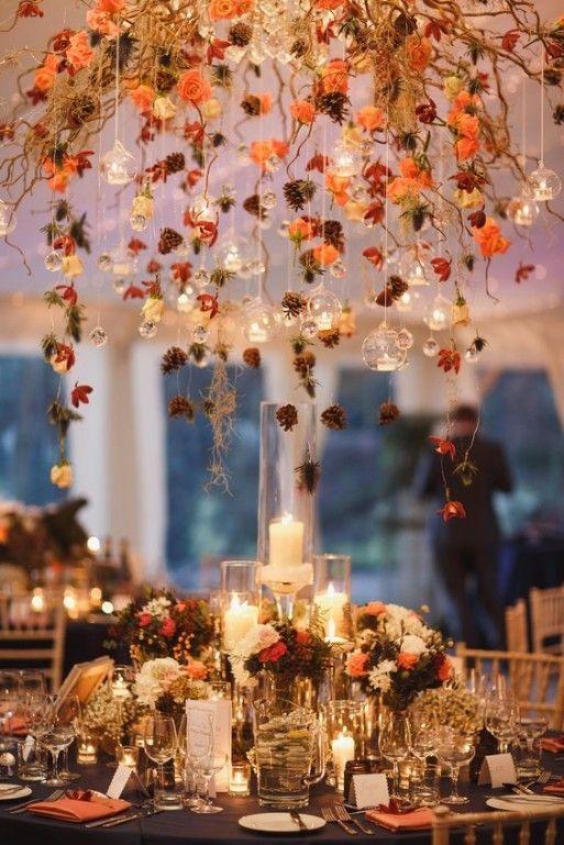 d coration pour un mariage en automne mariage automne pinterest mariage en automne. Black Bedroom Furniture Sets. Home Design Ideas