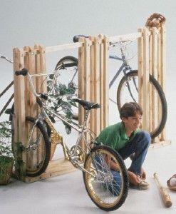 Free Bike Rack Plans Bikes Pinterest Bike Rack Bike And