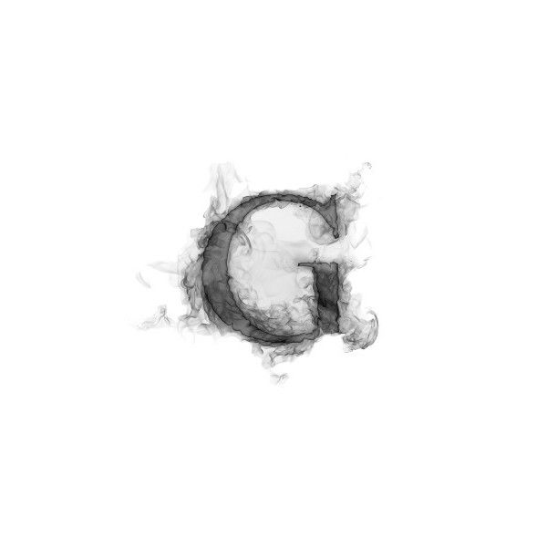 Free Smoke Letter G Wallpaper Download The Free Smoke