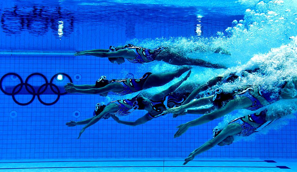 underwater photos at the london 2012 olympic games