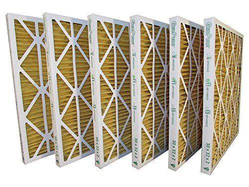 30x32x2 Merv 11 Geopure Geothermal Air Filter Pack Of 6 Air