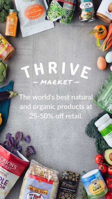 Thrive Market App - Organic Healthy Food Delivery on the ...