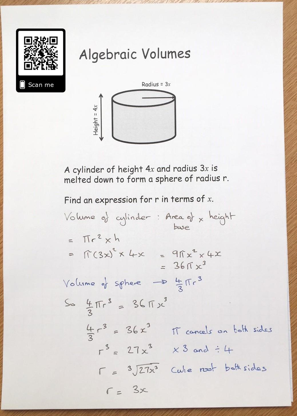 Algebraic Volume Problem
