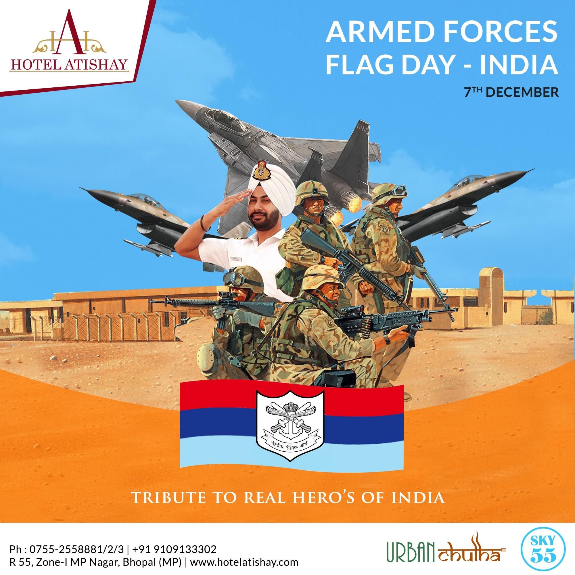 Armed Forces Flag Day Is Commemorated Every Year On 7th December To Mark Solidarity Of The Nation With Our So Armed Forces Flag Day Flag Day India Armed Forces