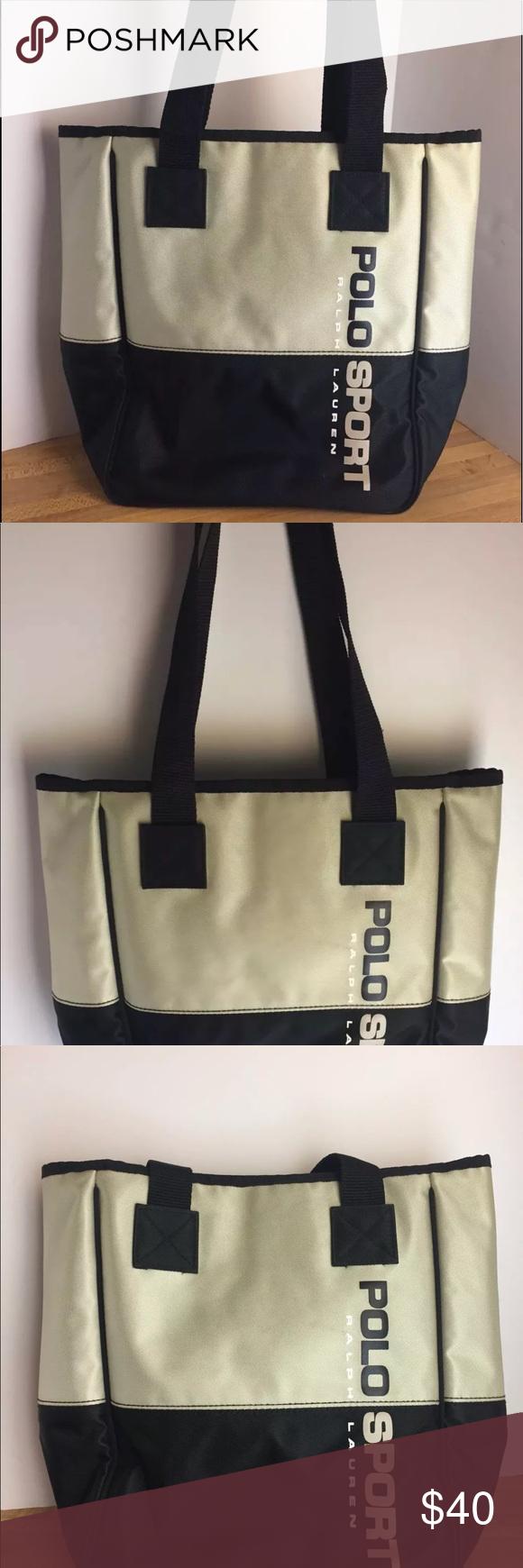 b72c3e0097 Polo Sport Ralph Lauren Messenger Shoulder Bag Polo Sport Ralph Lauren  Messenger Tote Shoulder Bag Black