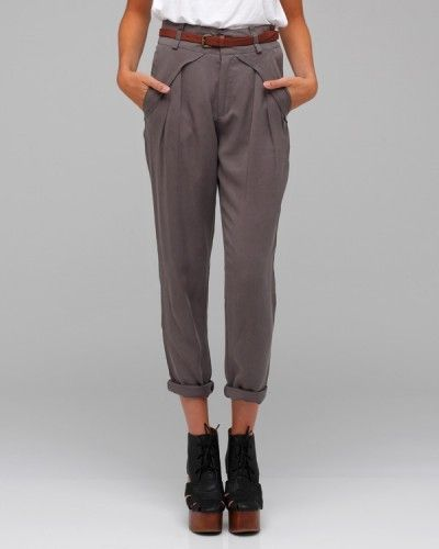 Need Supply Co. / Belted Trouser - StyleSays