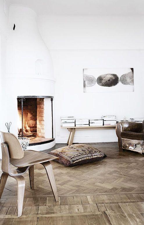 Miluccia fireplace \u003d NEUTRAL Pinterest Parquetry, Flooring