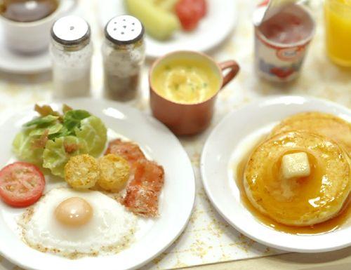 Miniature Breakfast - Petite Maison*のミニチュア&ドールハウス