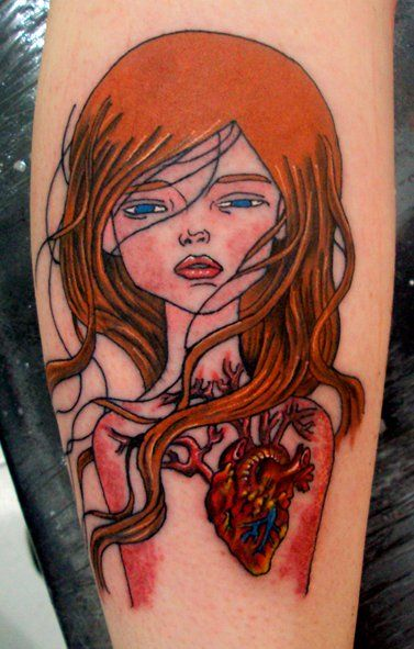 audrey kawasaki tattoo by roger marx | ink | Pinterest ...