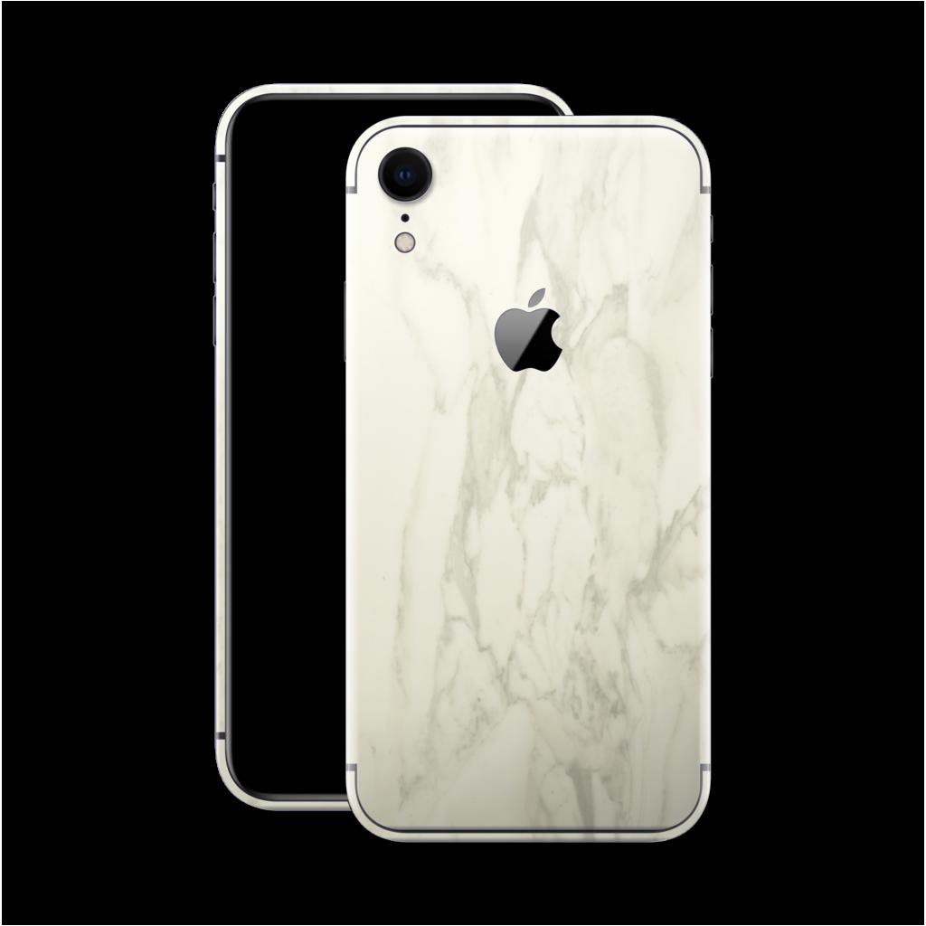 iPhone XR LUXURIA White MARBLE Skin Marble skin, Iphone