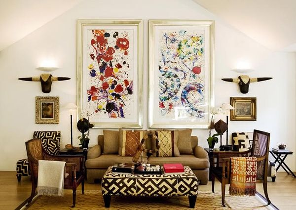 African Style Living Room Design Captivating Stunning Living Room Décors  Africans African Living Rooms And Review