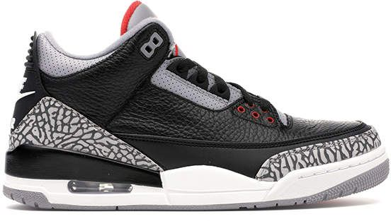 Jordans Christmas 2019.Jordan 3 Retro Black Cement 2018 In 2019 Products