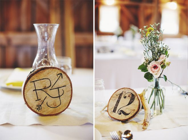 Wood Burned Table Numbers Our Big Day Pinterest Table