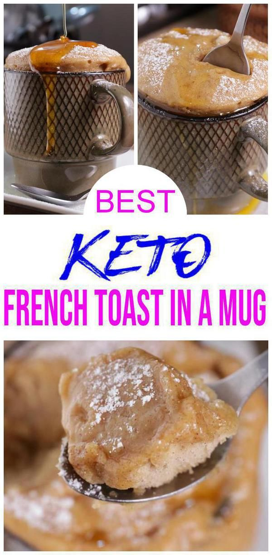 Low Carb Mug Cake - Low Carb French Toast In A Mug Recipe ...