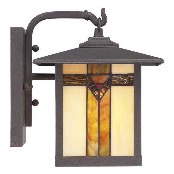 Shop allen + roth LWS0547A Vistora 9-in H Outdoor Wall Light