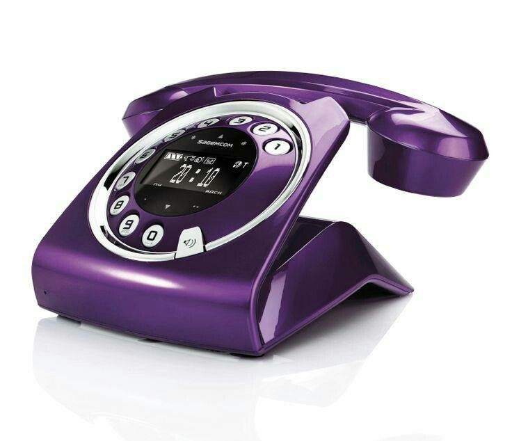 Purple Phone Awesomeness Casa Purpura The Purple Telefono