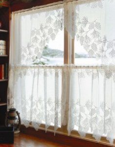 Woodland Lace Curtains by Heritage Lace   Decorating with Lace ...