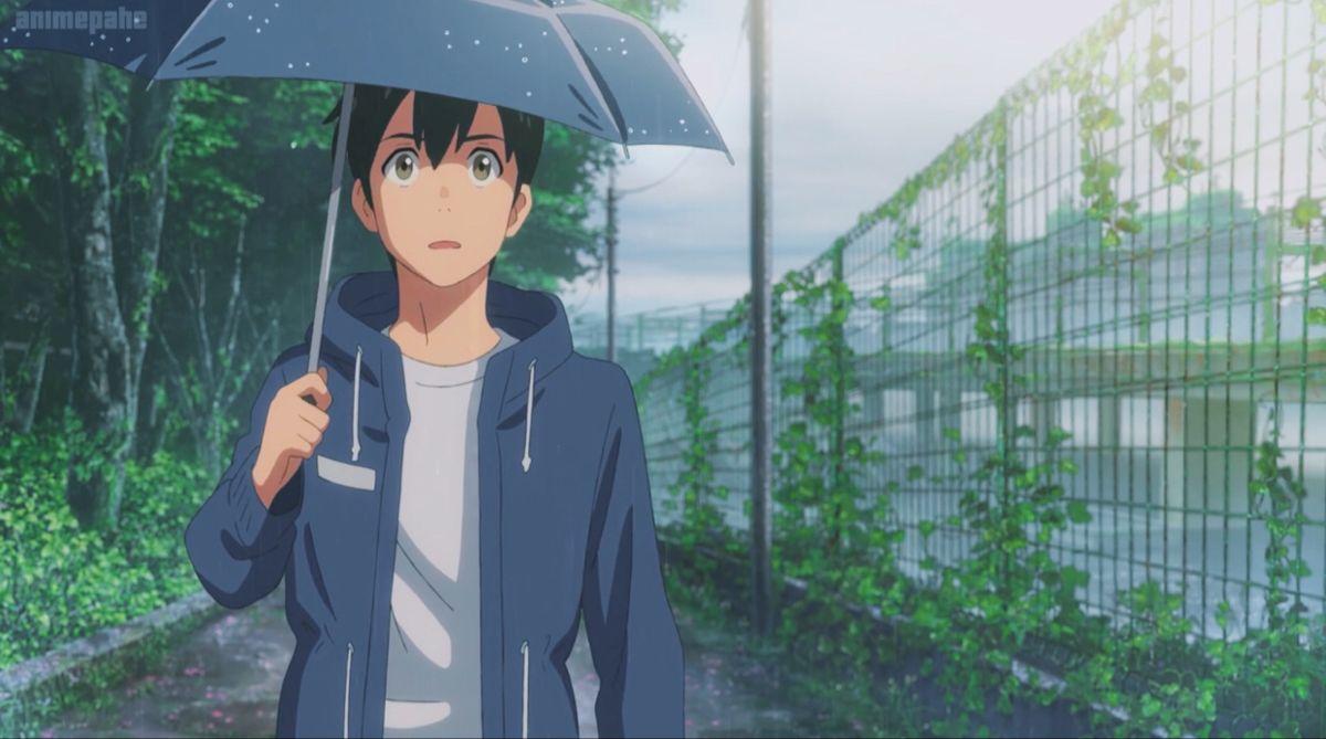 Hodaka And The Rain In 2020 Anime Wallpaper Live Anime Aesthetic Anime