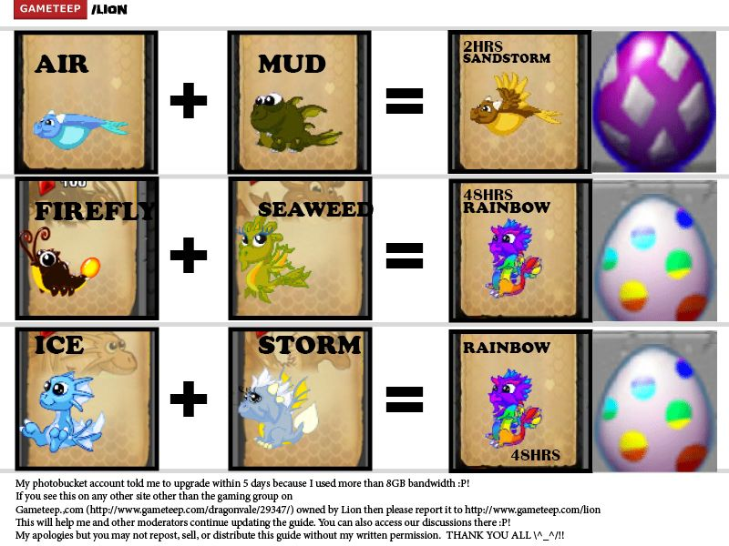 Dragonvale Breeding Guide Part 3 Gameteep Dragon City Monster Legends Dragon