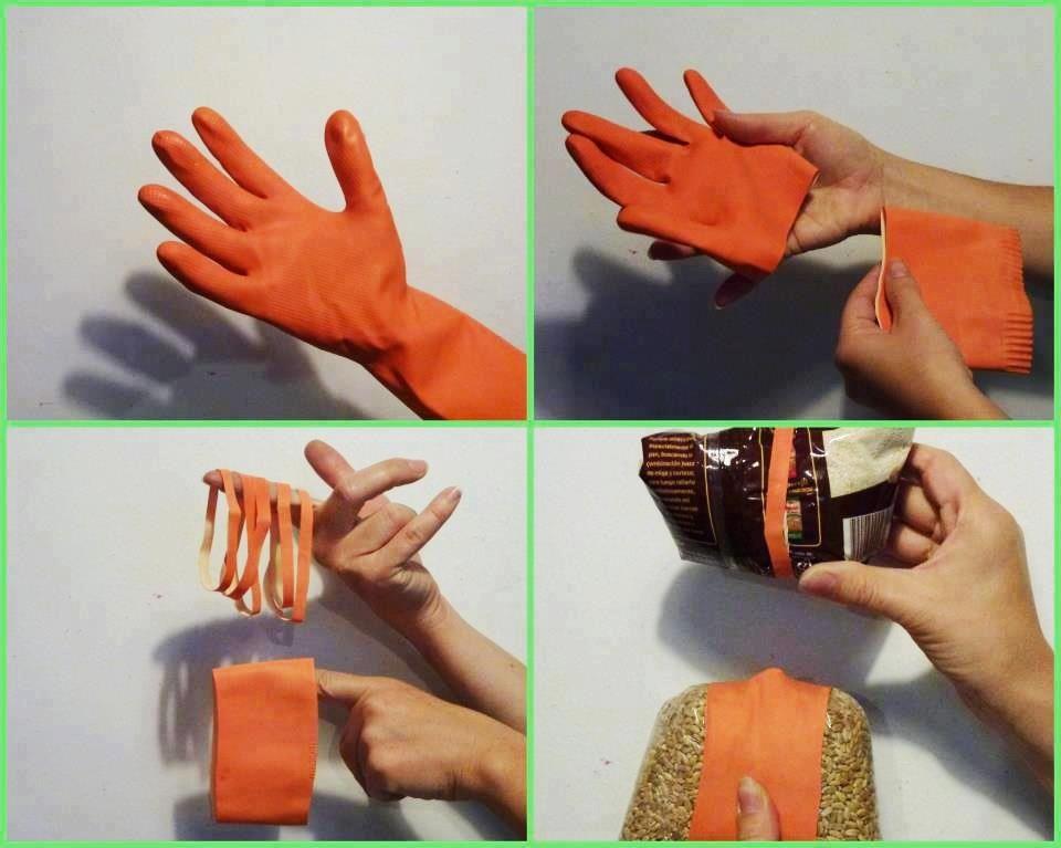 Recicle guantes