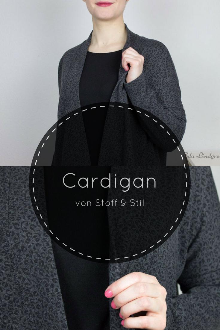 Longcardigan - Sewing Pattern: Stoff & Stil - Eda Lindgren   Sewing ...