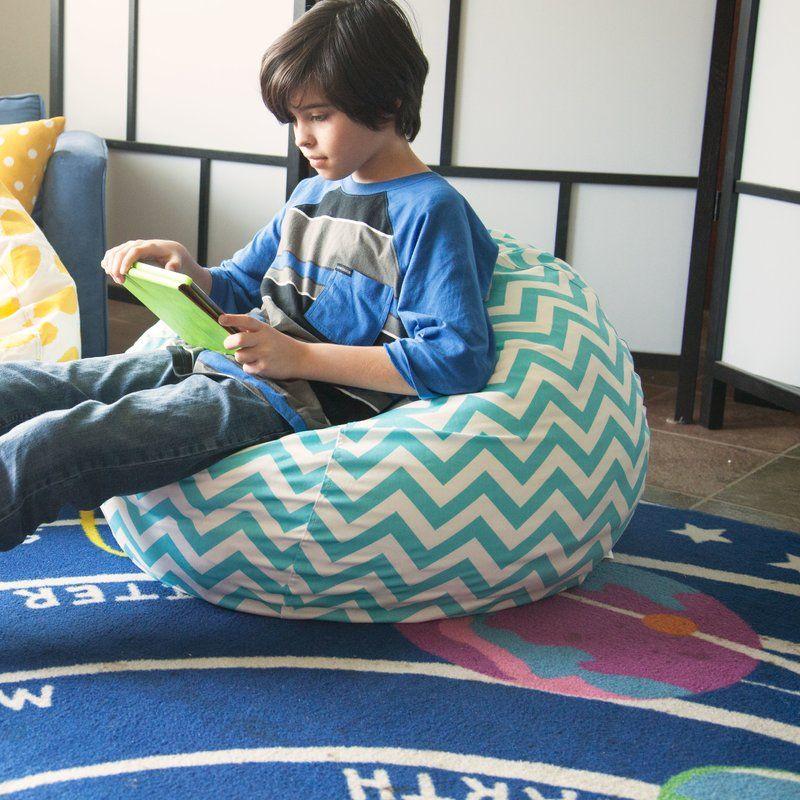 Aspen Bean Bag Chair Bean bag chair, Kids bookcase