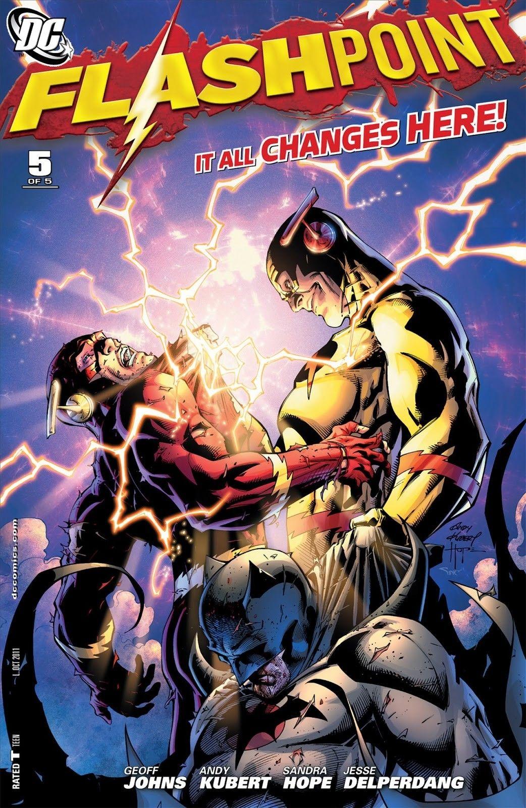 Flashpoint 5 Comics Read Comics Online Flash Tv Series