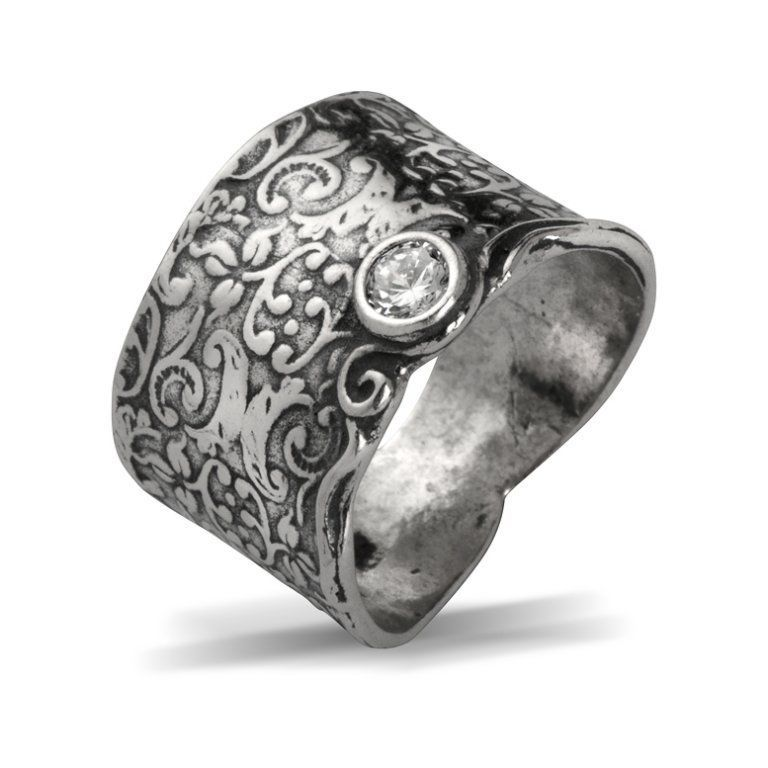 6 7 8 9 R00544GR SHABLOOL IL Didae Handmade Garnet Sterling Silver 925 Ring Sz