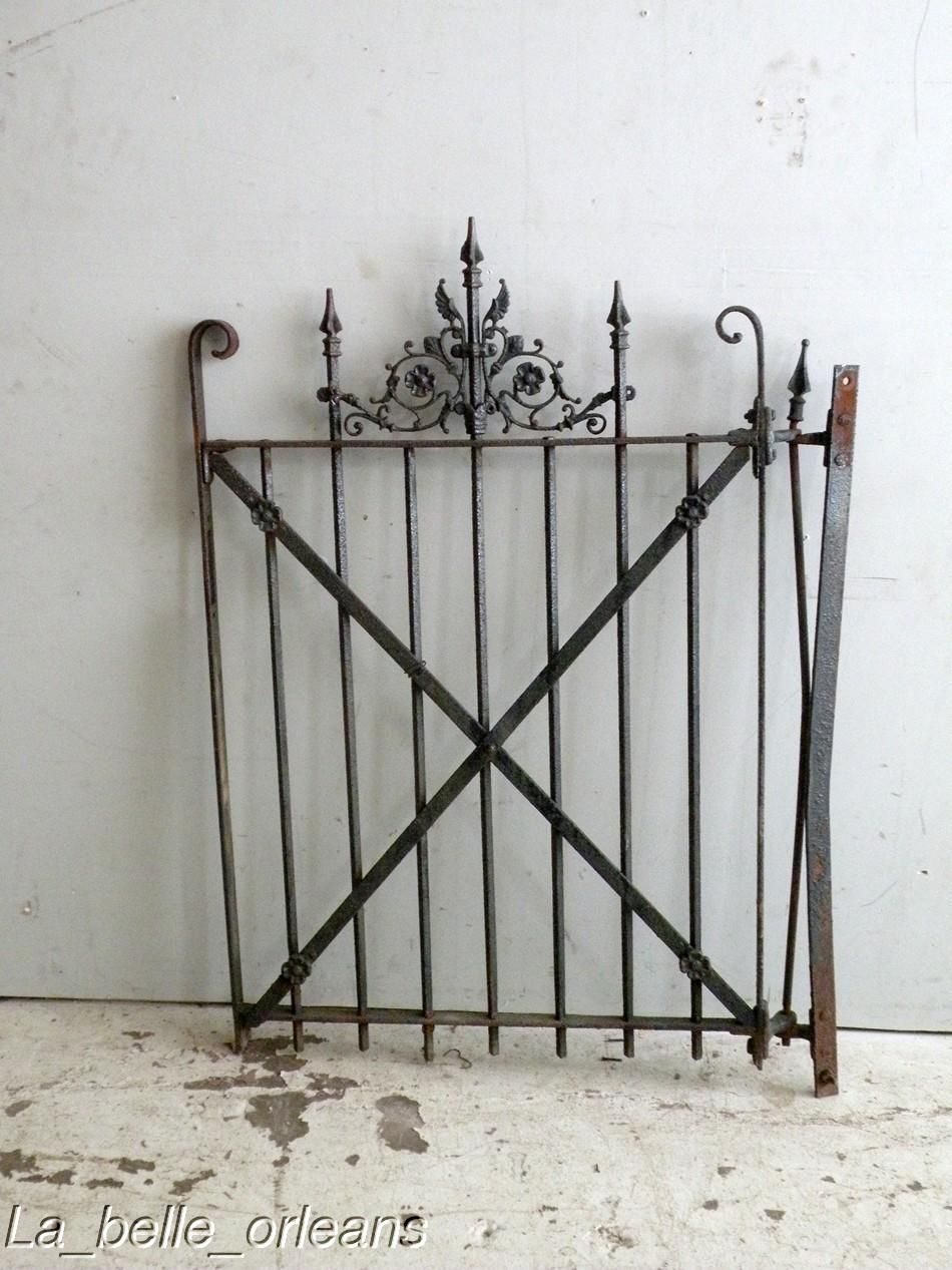 Iron garden gate - Image Detail For Sweet New Orleans Cast Iron Yard Garden Gate Wings