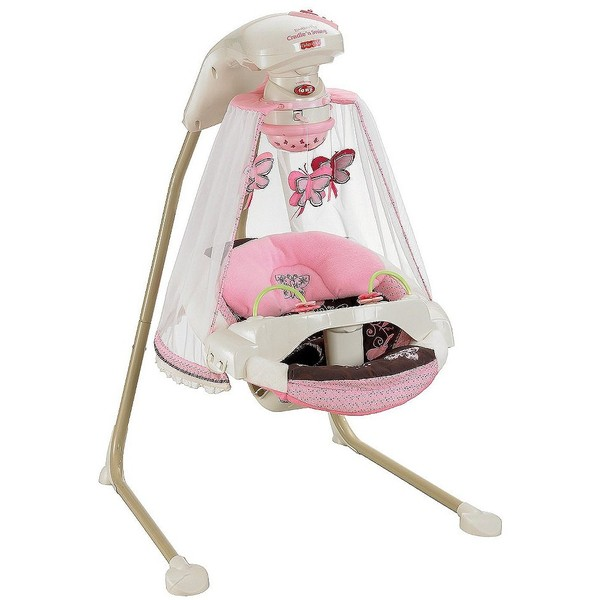 Fisher Price Cradle Swing Butterfly Garden Target Com Addie